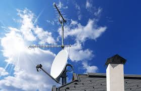 Dish and aerial install